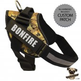 Rigadoo Dog Harness - Bonfire