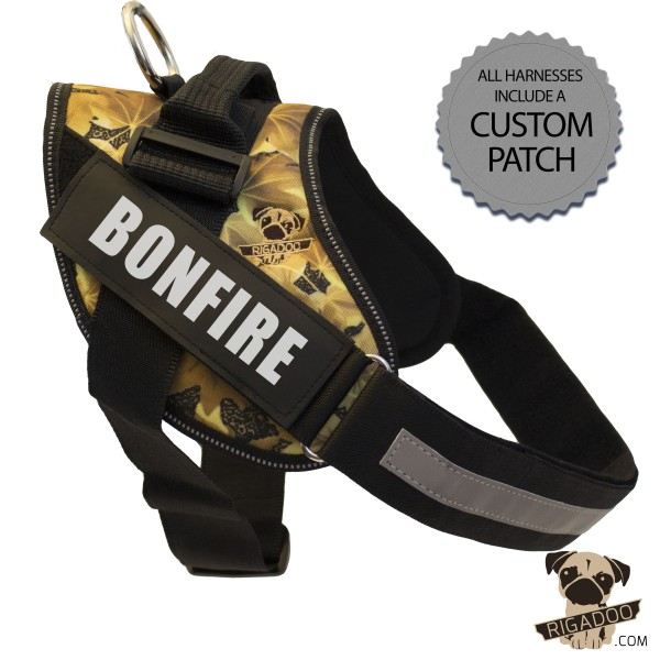 Rigadoo Dog Harness - Bonfire