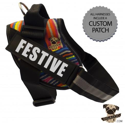 Rigadoo Harness - Festive - www.rigadoo.com