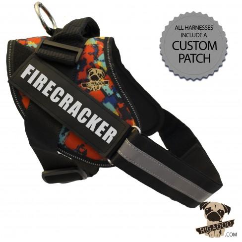 Rigadoo Harness - Firecracker - www.rigadoo.com