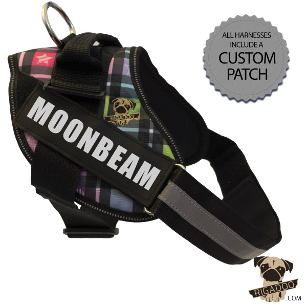 Rigadoo Dog Harness - Moonbeam