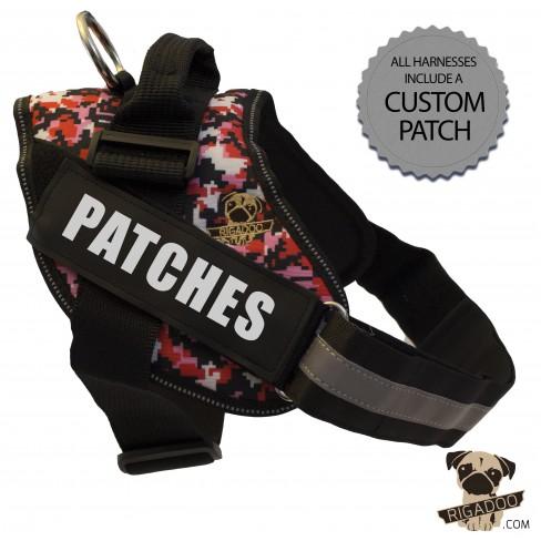 Rigadoo Harness - Patches - www.rigadoo.com
