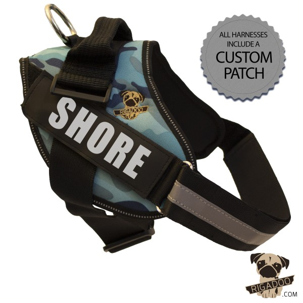 Rigadoo Dog Harness - Shore