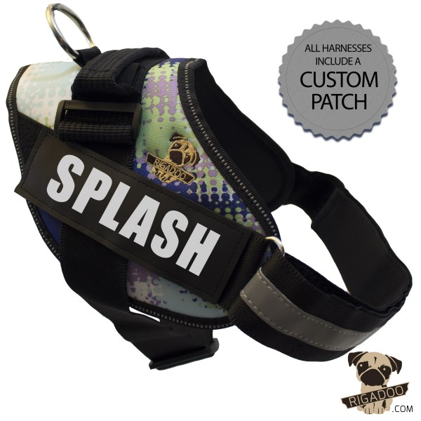 Rigadoo Dog Harness - Splash
